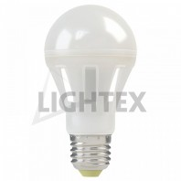 LED лампа 10W 220V A65 360 ' NW 4000K Lightex