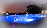 LED осветление за басейни и фонтани