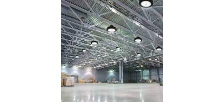 Осветителни решения за търговски складове и хамбари