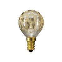 Philips електрическа крушка сфера DECO P45 25W Е14  G-K златисто кроко