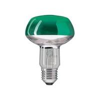 Philips рефлекторна лампа NR80 60W E27 GR зелен  Bx