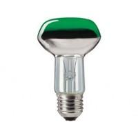 Philips рефлекторна лампа NR63 40W/GR зелени