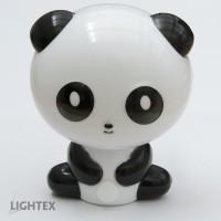LED нощна лампа за контакт PANDA 0.4W 220V 4000K Lightex