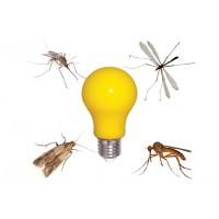 Led лампа за комари Buzzz 6W 220V E27 A60 2200K Lightex