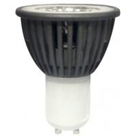 LED лампа 5W COB 220V GU10  NW 4000K алуминиев копус Visiblelux