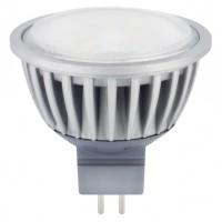 LED лампа 7W 12V GU5.3 MR16/AL  CW 6500K Visiblelux