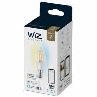 WIZ Wi-Fi Led лампа FILAMENT 4.9W C35 E14 470lm 2700K-6500K 15000h