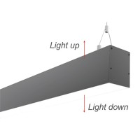 LED осветително тяло димеруемо висящо TWIST 50W 4000K 1190мм Lightex