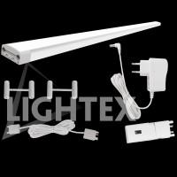 Комплект LED тяло за кухня с hand scan ключ 3x30см 3x 5W 4000K с адаптор и аксесоари Lightex