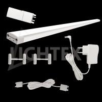 Комплект LED тяло за кухня с touch ключ 3x30см 3x 5W 4000K с адаптор и аксесоари Lightex