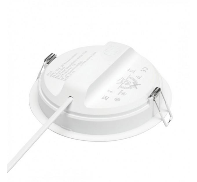 Philips LED луна за вграждане MESON 13W 4000K 1300lm 220V ф140мм бяла