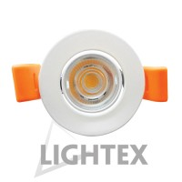 LED луна 220V 4W бяла WW 3000K Lightex