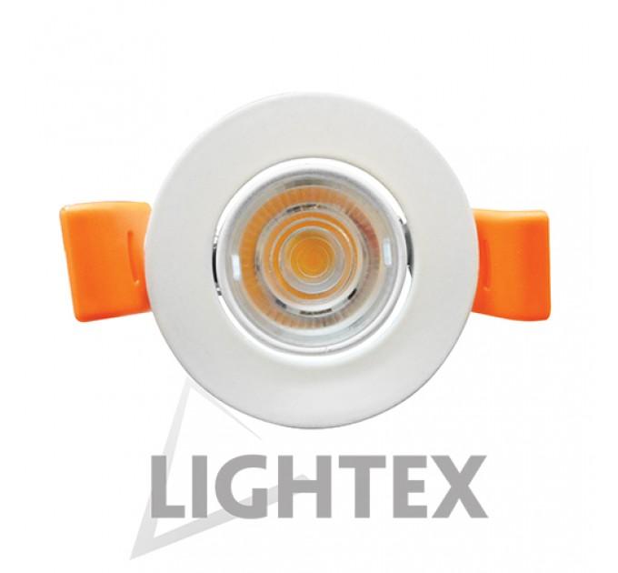 LED луна 220V 4W бяла WW 3000K Lightex