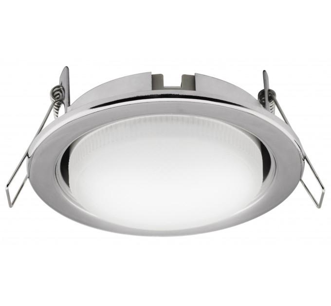 LED луна 220V 8.5W GX53 хром NW 4200K Lightex