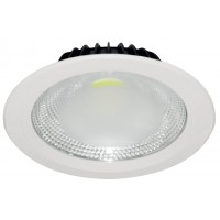 LED луна бяла 220V 10W COB NW 4000K Lightex