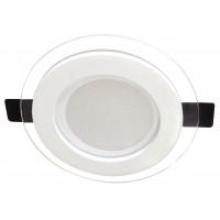 LED луна бяла 220V 18W комбинирана трицветна 3000K/4000K/6500K/ IP20 Ф200 Lightex