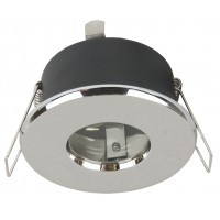 Влагозащитена луна WP/MR16-S-65 алуминиева стационарна хром MR16 GX5.3 max.50W IP65 Lightex