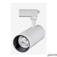 LED прожектор за шина PLUS 20W 220V 3000K/4000K/6500K димируем бял Lightex