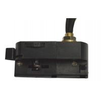 ADAPTOR за прожектор 4pins към монофазна шина 3Pins - черен