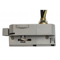 ADAPTOR за прожектор 4pins към монофазна шина 3Pins - сребрист