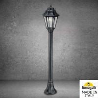 Градински фенер MIZAR/ANNA черен  Е27 LED Filament 6W 2700K IP55 Fumagalli