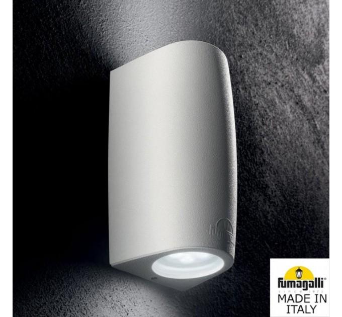 Фасаден осветител MARTA 90 2L GU10 LED 7W 3000K/4000K/6500K IP55 бял Fumagalli