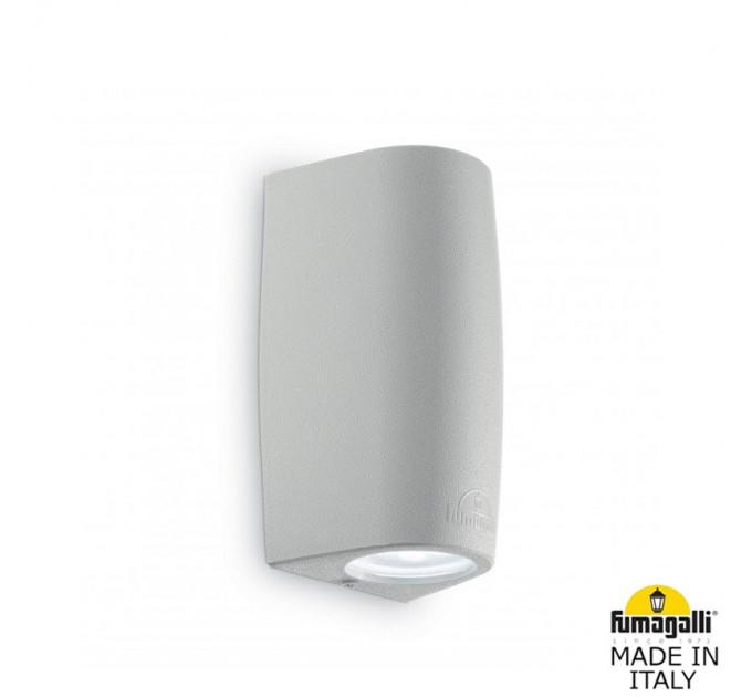 Фасаден осветител MARTA 90 2L GU10 LED 7W 3000K/4000K/6500K IP55 сив Fumagalli