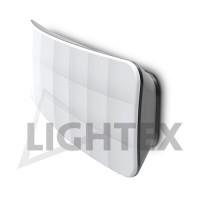 LED плафон ESTE 6W 4000K 220V IP54 графит Lightex