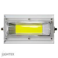 LED прожектор CHOCO  50W подвижен  6000K 220V бял IP65 Lightex