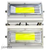 LED прожектор CHOCO  100W подвижен  6000K 220V бял IP65 Lightex