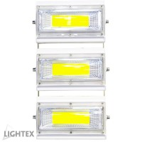 LED прожектор CHOCO  150W подвижен 6000K 220V бял IP65 Lightex