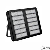 LED прожектор GRAF 500W 6500K IP65 220V черен, чип PHILIPS и драйвър MEANWELL Lightex