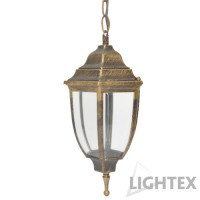 Градински фенер FIRENCE I/P GB E27 max10W LED IP44 Lightex