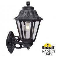 Градински фенер BISSO/ANNA черен Е27 IP55 Fumagalli