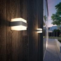 Philips Фасаден осветител SHOVEL E27 max7W LED IP44 inox
