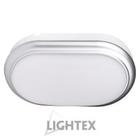 LED аплик ECLIPS 8W 220V 4000К сребро IP54  Lightex