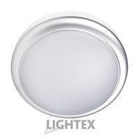 LED аплик SIRIUS 8W 220V 4000К ф140мм сребро IP54  Lightex