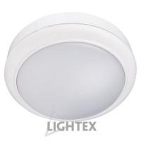 LED аплик SIRIUS 15W 220V 4000К ф180мм бял IP54  Lightex
