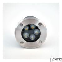 LED тяло за вграждане в земя IP65 5W 4000K 220V H90 x Ф100 Lightex