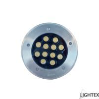 LED тяло за вграждане в земя IP65 12W 4000K 220V H95 x Ф180 Lightex