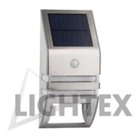 LED соларен аплик със сензор 0.6W 6000K IP44 Lightex