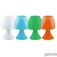 LED настолна лампа MINI 0.1W студена светлина IP44 батерия AAA 12бр. к-т Lightex