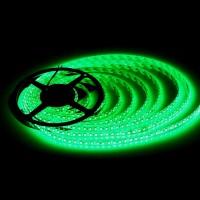 LED лента 3528 60бр/м 12VDC 4.8W/метър IP44 120D зелена 1м. Lightex