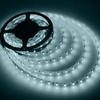 LED лента 3528 60бр/м 12VDC 4.8W/метър IP44 120D студено бяла 1м. Lightex