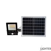 LED SMD 5730 прожектор със сензор 40W 5000K 1200lm IP65 соларен панел и дистанционно Lightex