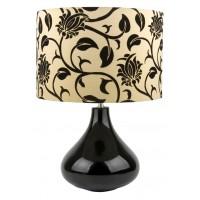Настолна лампа BLOOM черна  1xE27  Desonia