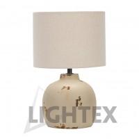 Настолна лампа CLASSIC 2212 Е14  крем Lightex