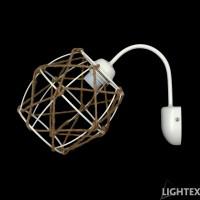 Аплик ERIKA Е27 бял Lightex
