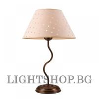 Настолна лампа  FABRIZIO 1хЕ27 антик LN-1.44  Lamkur