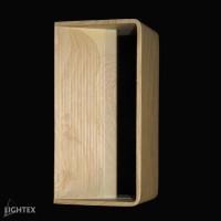 LED Аплик SURF 1*6W 3000K 200*100*80 дърво Lightex